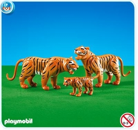 Playmobil Zoo Set #7997 Tigers with Cub