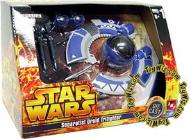Star Wars Die Cast Model Kit Separatist Droid Tri-Fighter BLOWOUT SALE!
