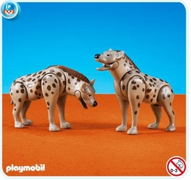 Playmobil Zoo Set #7978 Hyenas