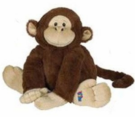Webkinz Jr. Plush Brown Monkey