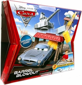 Disney / Pixar CARS 2 Movie Track Set Barrel Blowout