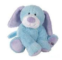 Webkinz Jr. Plush Blue Puppy