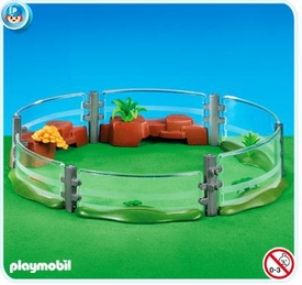 Playmobil Zoo Set #7476 Zoo Enclosure