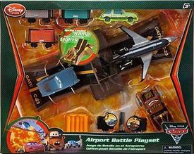 Disney / Pixar CARS 2 Movie Exclusive Airport Battle Playset
