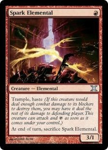 Magic the Gathering Tenth Edition Single Card Uncommon #237 Spark Elemental