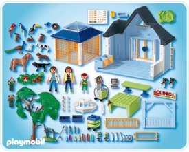 Playmobil Zoo Animal Clinic Set #4343 Animal Clinic