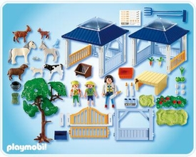 Playmobil Zoo Animal Clinic Set #4344 Animal Nursery