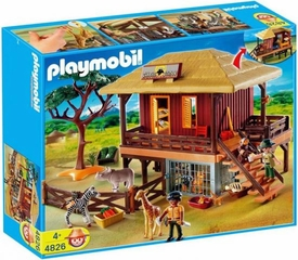 Playmobil Zoo Animal Clinic Set #4826 Wild Life Care Station