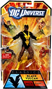 DC Universe Classics Series 18 Action Figure Black Vulcan [Build Apache Chief Figure]