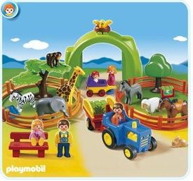 Playmobil Zoo Animal Clinic Set #6754 Large Zoo