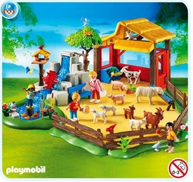 Playmobil Zoo Set #4851 Children's Zoo