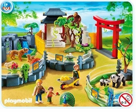 Playmobil Zoo Set #4852 Asian Animal Enclosure