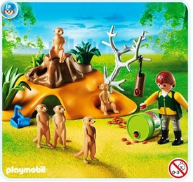 Playmobil Zoo Set #4853 Meerkat Family