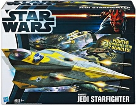 Star Wars 2012 Class II Attack Vehicle Anakin's Jedi Starfighter
