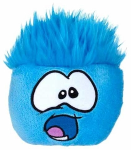 Disney Club Penguin 4 Inch Series 9 Plush Puffle Blue [Includes Coin with Code!]