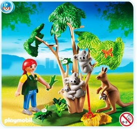 Playmobil Zoo Set #4854 Koala Bears with Kangaroo