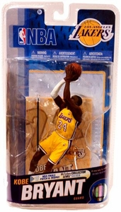 McFarlane Toys NBA Sports Picks Series 18 Action Figure Kobe Bryant (Los Angeles Lakers NBA Logo & White Armband