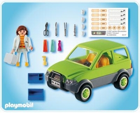 Playmobil Zoo Animal Clinic Set #4345 Vet with Car