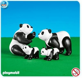 Playmobil Zoo Set #7896 Panda Family