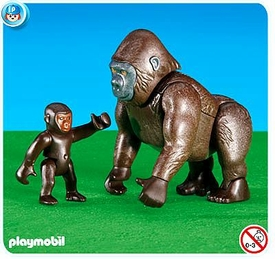 Playmobil Set #6201 Gorilla with Baby