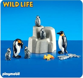 Playmobil Zoo Set #4259 Emperor Penguins with Babies