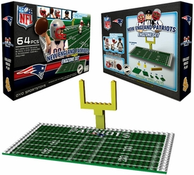 OYO Football NFL Generation 1 Team Field Endzone Set New England Patriots