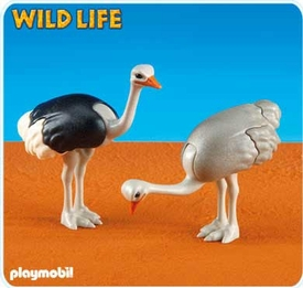 Playmobil Zoo Set #6260 2 Ostriches