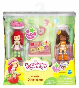Strawberry Shortcake Mini Figure Two Pack Cookie Celebration  [Strawberry Shortcake & Orange Blossom]