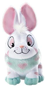 Neopets Collector Species Series 1 Plush with Keyquest Code Striped Cybunny