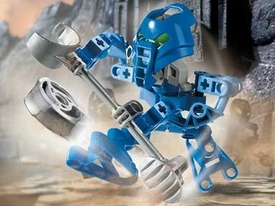 LEGO Bionicle Matoran Set #8586 Macku [Dark Blue]