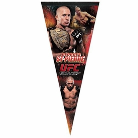 Wincraft UFC & MMA Mixed Martial Arts Premium Pennant Georges St-Pierre