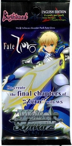 Weiss Schwarz ENGLISH Fate / Zero Booster Pack