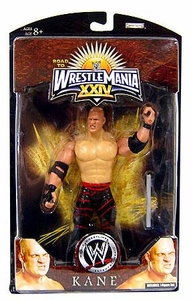 WWE Wrestlemania 24 Exclusive Series 3 Action Figure Kane