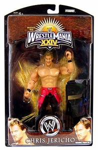 WWE Wrestlemania 24 Exclusive Series 3 Action Figure Chris Jericho