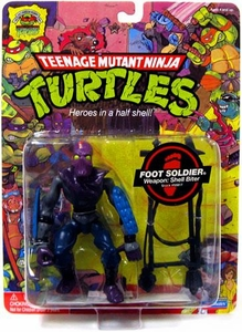 Teenage Mutant Ninja Turtles 25th Anniversary Action Figure Foot Soldier