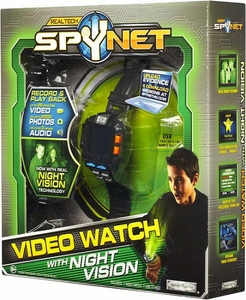 Spy Net Real Tech Secret Mission Video Watch 2.0 with Night Vision