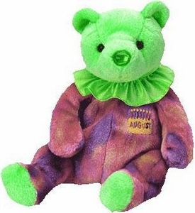 Ty Beanie Baby August the Birthday Bear