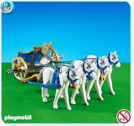 Playmobil Romans & Egyptians Set #7498 Roman Chariot