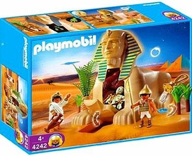 Playmobil Romans & Egyptians Set #4242 Sphinx with Mummy