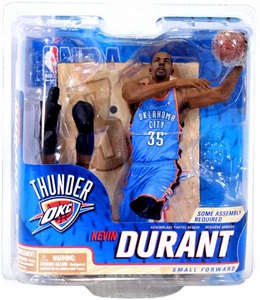 McFarlane Toys NBA Sports Picks Series 22 Action Figure Kevin Durant (Oklahoma City Thunder) Blue Jersey