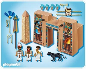 Playmobil Romans & Egyptians Set #4243 Pharaoh's Temple