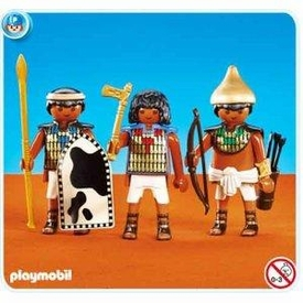 Playmobil Romans & Egyptians Set #7383 Soldiers of Pharaohs