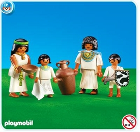 Playmobil Romans & Egyptians Set #7386 Egyptian Family