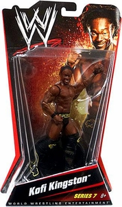 Mattel WWE Wrestling Basic Series 7 Action Figure Kofi Kingston