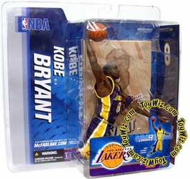 McFarlane Toys NBA Sports Picks Series 9 Action Figure Kobe Bryant (Los Angeles Lakers) Purple Jersey Variant