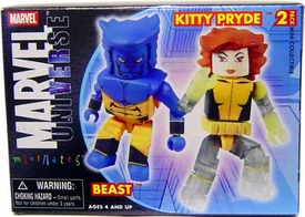 Marvel MiniMates Series 13 Astonishing Kitty Pryde & Beast