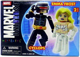 Marvel MiniMates Series 13 Astonishing Cyclops & Emma Frost