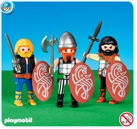 Playmobil Romans & Egyptians Set #7924 3 Gauls