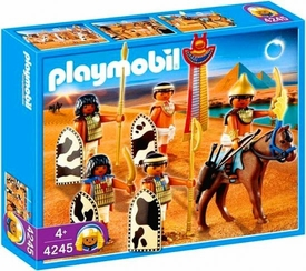 Playmobil Romans & Egyptians Set #4245 Egyptian Soldiers