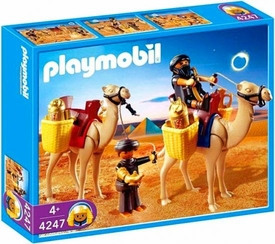 Playmobil Romans & Egyptians Set #4247 Tomb Raiders with Camels